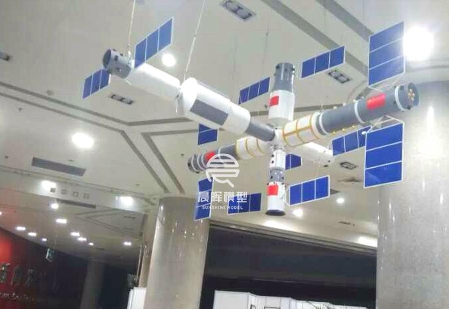 中國未來空間站模型
